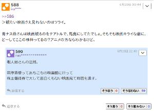 9605 - 東映(株) 暇人爺さんの法則(=iro爺さんの法則)と 私が映画が好きか嫌いかについては 因果関係はありません。