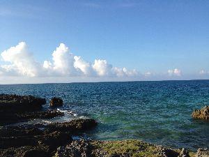 クロベエ写真館 先程の海辺