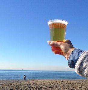 ありきたりな日常に・・・ 12月に入り、すっかり寒くなってますね! でも、浜辺でルービーです 笑