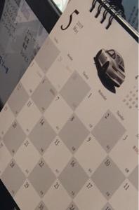 4565 - そーせいグループ(株) しかしこのディーラーは失礼なディーラーだな〜  お寿司さま の愛車の写真を勝手にカレンダーのデザイン