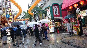 ひとりごと。。。 昨日は中華街。  ラーメンがスパイシーで、胃にもたれた。
