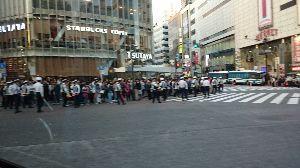 ひとりごと。。。 渋谷はお祭り騒ぎだった。