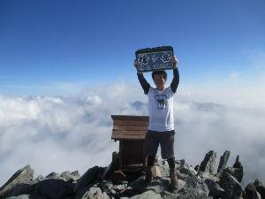 山に登ろう!! 今年の8月に槍ヶ岳に登ってきました。  ルートは新穂高~右俣林道を通るコース。  憧れの山だったので
