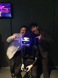 3664 - (株)モブキャストホールディングス PS.Blog Staff Plays Rez Infinite on PS VR  The PS