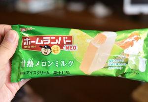 6050 - イー・ガーディアン(株) もちろん冷凍庫に入ってますわん💚  でもきょうはホームランバーメロン味@今年の新発売どすえ