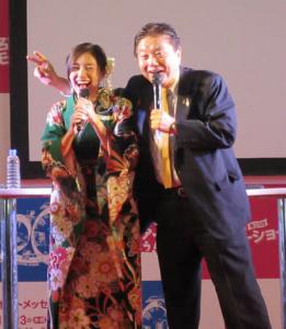 6740 - (株)ジャパンディスプレイ 松井珠理奈に「近い、近い」と怒られる河村たかし名古屋市長