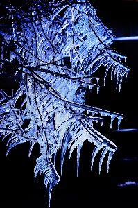 写真撮影趣味 今日は冷え込みが強いです 写真は消雪パイプの水が掛かり凍った状態です