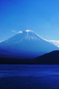 写真撮影趣味 本栖湖からの富士山です