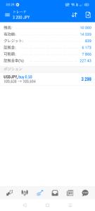 usdjpy - アメリカ ドル / 日本 円 一万円口座なので放置です。  ワンチャン何処までも育って 高値更新するのを期待してます。