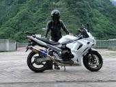 気軽にお話ししませんか。 かっこいいですね♪  バイクは、カワサキですね。(★^ω^)ニッコリ★