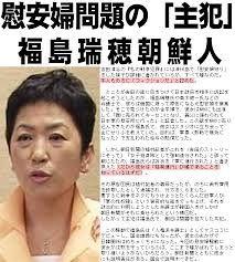 クリーン?だまされるな!みんなNO党に ◆福島瑞穂  慰安婦問題の特異性は、日本人が創作した話だということだ。ふつう「私が犯罪者だ」と嘘をつ