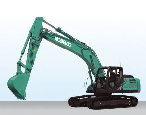 5805 - 昭和電線ホールディングス(株)  You would have seen  KOBELCO heavy machinery on t