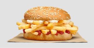 2702 - 日本マクドナルドホールディングス(株) ツレが目を離した隙に肉だけ食べてポテトとすり替えたバーガー