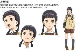 ★★★アニメ関連山手線ゲーム☆☆☆ 14.花野 菫  めぐみさん担当 ちはやふるから アニメでは2期から登場。  千早や太一の1つ下の瑞