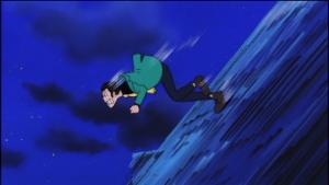 ★★★アニメ関連山手線ゲーム☆☆☆ 12.ルパン  「ルパン三世 カリオストロの城」より。 カリオストロ城の上でアクシデントにより落下し