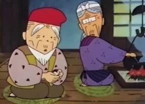 ★★★アニメ関連山手線ゲーム☆☆☆ 18.舌切り雀  雀に糊をなめられたお婆さんが怒って、雀の舌を切ってしまいます。 優しいお爺さんが心