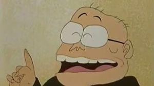★★★アニメ関連山手線ゲーム☆☆☆ 11.コロムビア・トップ さん  参議院議員をつとめたこともある大物漫才師。いしいひさいち原作「おじ