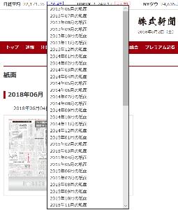 4765 - モーニングスター(株) あと、 株主優待の「株式新聞電子版」 【 リニューアル 】 して、紙面のPDFが5年前の 2013年