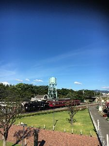 ☆ミ あっぴーと仲間たち 京都 鉄道博物館!  暑かった!!36度!  これから広島〜〜台風だ〜〜