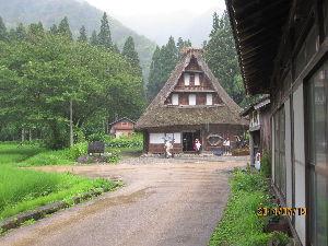 諸国放浪記 旅の思い出は、楽しいものです。 此処は、富山県五箇山の風景です。