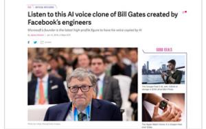 FB - フェイスブック よその会社の創業者勝手に使うなよ ザッカーバーグの声でも使えよ トランプでもいいよ