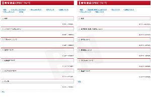 8732 - (株)マネーパートナーズグループ 暗号資産CFD「よくある質問」ページにおいて変更あり。 左:10/17の週 右:10/25