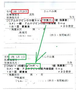 4541 - 日医工(株)      これは、今月5月から「ファイザー」に変わった証拠        3月29日の時点では、「日