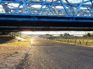 メタ宗教について語り合いましょう 最初の鉄道の橋脚、JR常磐線と東武鉄道。  葛西臨海公園まで20キロ位かな^^ トイレが要所要所にあ