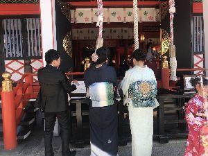 お気楽に生きる。 前略  近間の神社での参拝も終わり、次は家族写真の撮影、食事会となった。  食事会は和風コースであっ