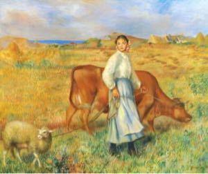 牛飼いたちの花畑