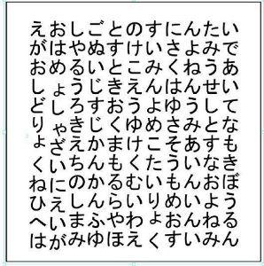 忙しさをワスレタイ(雑談) はじめに見つけた3つの言葉があなたの状態(?)だそうです。