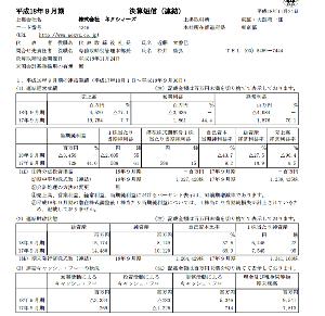 7618 - (株)ピーシーデポコーポレーション 昔、ネクシィーズ(4346)が7期連続増収増益最高益更新をしていた時に急激に業績が悪化する事が予想出