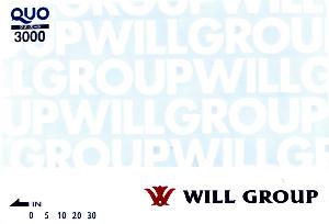 6089 - (株)ウィルグループ 【 株主優待 到着 】 (200株  2年以上) 3,000円クオカード -。