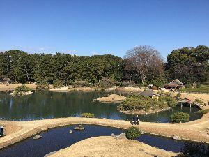 (*^▽^)/★*☆♪独り言(゜∇^d)!! 岡山の後楽園に 12月31日行ってきました。岡山城 近いので 抜け出して 見学。。。でも、天守閣には