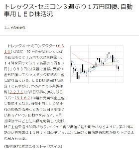 6616 - トレックス・セミコンダクター(株) トレちゃんてさ~ 元は値がさ株で~  株価は1万円以上だったんだよね~ 知ってた~?