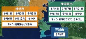 来週のレンジ予想 【神奈川県異臭騒ぎ】 神奈川県横須賀市内では、15日も「ガスの臭いがする」という通報が相次ぎました。