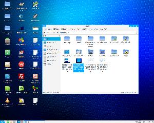 Lubuntuクラブ・情報提供の場。 Midoriブラウザはuserフォルダが最上階になりますのでそれを開いておきます。