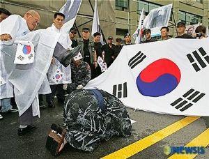自民党に日本国にまではやられぬ!  「日王ではなく天皇と呼ぶべき」      元月刊朝鮮編集長が主張      「李明博前大統領も訪日