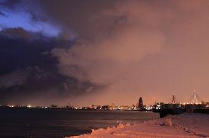 スマホで撮りました。 こんばんは、 雪、午後曇り、 無理なく、適当にやっています、 ほんな~ね~。