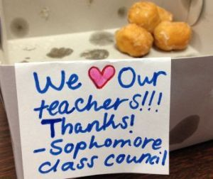 英語趣味の福袋(疑問満載) What is Teacher Appreciation Week?  Teacher Apprec