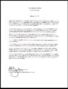 憲法を学ぼう フリン辞任表明の当日に、辞表が公開されとるやんけ!  どないなっとんねん  間者が白亜館におる、ちゅ