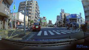ドライブレコーダー ひやり体験 (静止画版) そこは、一方通行の出口です。