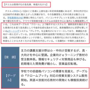 3933 - チエル(株) 年初来高値更新