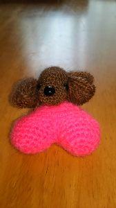 編みものが好き トイ・プードルなの?
