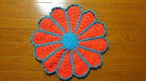 編みものが好き オレンジのほうが私は好きかな☺