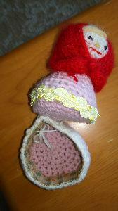 編みものが好き 開けたとこ😃