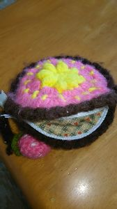 編みものが好き 口開けた中❗