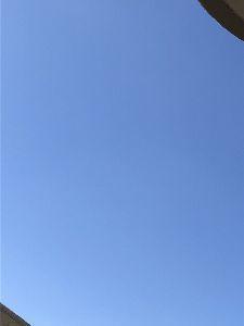 mmoの独り言(ぴよぴよ投資家) ベランダのハンモックでまったり😄  見事な秋晴れです! 空には雲一つなく綺麗なブルー。