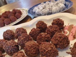 mmoの独り言(ぴよぴよ投資家) 次女とトリュフチョコレートを作りました🍫  めっちゃ美味しくできたよ😄 毎年好評なんです😌  後は綺