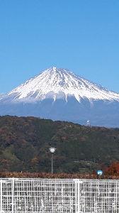 山梨のツーリングトピ 富士山が綺麗に見える季節になりました